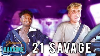 Download 21 Savage Carpool Karaoke WITH Jake Paul Video