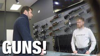 Download HIDDEN CAM: ″Gun Show Loophole″ Exposed! Video