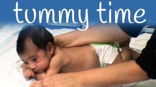 Download Tummy time exercises for your baby Video
