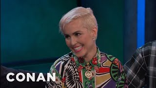 Download Noomi Rapace's Filthy Favorite Song - CONAN on TBS Video