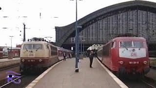 Download Hauptbahnhof Köln DB Eisenbahnalltag Dezember 1995 und Mai 1996 Video