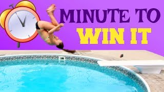 Download Gymnastics at the Pool: Minute to Win it Edition! Video