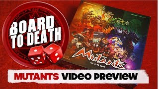 Download Mutants Board Game Preview - Board to Death TV Video