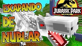 Download ESCAPANDO DE ISLA NUBLAR!!! - JURASSICRAFT - BUSCANDO AL INDOMINUS Video