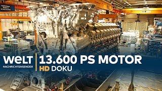 Download Rolls-Royce Power Systems - Wie ein 13.600 PS Motor entsteht | HD Doku Video