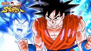 Download GOKU KAMEHAMEHA!   DBZ Goku Moveset Mod, Naruto Shippuden: Ultimate Ninja Storm 4 - Mod Series on PC Video