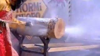 Download ULTRA HIGH PRESSURE WATER CUTS THROUGH LOG 800-666-1992 Video