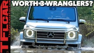 Download Is The New Mercedes-Benz G-Class Worth 3 Jeep Wranglers? We Take It Off-Road To Find Out! Video