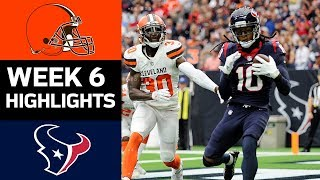 Download Browns vs. Texans | NFL Week 6 Game Highlights Video