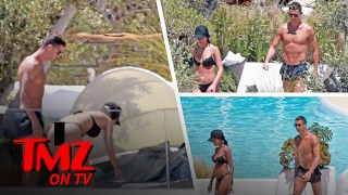 Download Cristiano Ronaldo's Girlfriend Georgina Rodriguez Busts Out Thong Bikini In Spain | TMZ TV Video