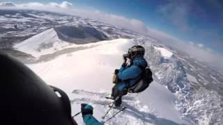 Download Bluebird ski days in Hokkaido, Japan Video