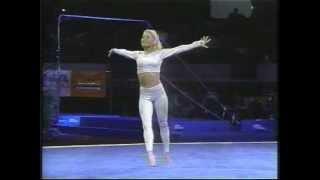 Download Kristie Phillips-Floor Ex-1997 Reeses Gymnastics-I Believe I Can Fly Video