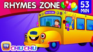 Download Wheels On The Bus | Popular Nursery Rhymes Collection for Children | ChuChu TV Rhymes Zone Video