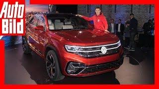 Download VW Atlas Cross Sport (NYIAS 2018) Details/Erklärung Video