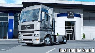 Download ✅ ETS2 - Real Engine Sound MAN TG-A D2066 18.430 Video