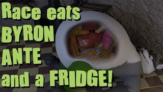 Download Race eats Byron, Ante, and a fridge! Video