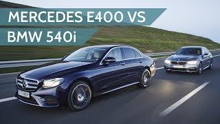 Download 2017 Mercedes-Benz E400 vs 2017 BMW 540i review Video