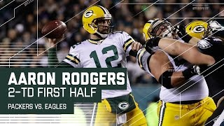 Download Aaron Rodgers & Davante Adams Hook Up for 2 First Half TDs | Packers vs. Eagles | NFL Video