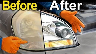 Download How To Restore Headlights PERMANENTLY ( Better Than a BRAND NEW Headlight ) Video