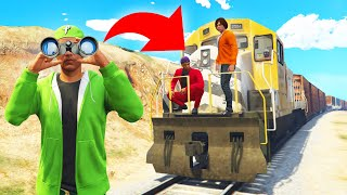 Download Playing HIDE And SEEK On A TRAIN! (GTA 5 Funny Moments) Video