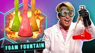 Download EPIC FOAM FOUNTAIN (Smosh Lab) Video