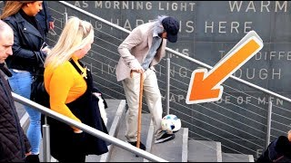 Download Old Man Crazy Football Skills Prank Video