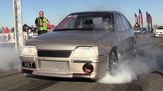 Download 1250HP Opel Kadett Turbo WKT Supercar KILLER - 0-312 KM/H Acceleration!! Video
