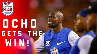 Download Chad Johnson leads team to win in Flag Football Semifinals | NFL Video