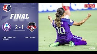 Download Highlights: Orlando Pride vs. Washington Spirit | July 7, 2018 Video