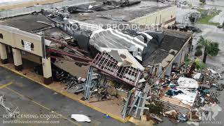 Download 10-10-2018 Panama City, Fl Hurricane Michael, flying drone through school, buildings collapsed Video