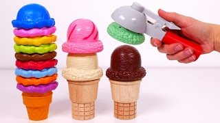Download Ice Cream Cones Playset!! Learn Colors for Kids Video