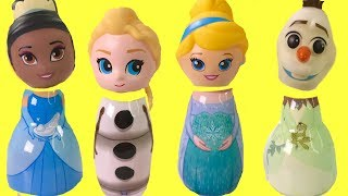 Download Disney Princesses Olaf Frozen Elsa Tiana Cinderella Surprise Toys | Fizzy Toy Show Video