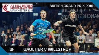 Download Squash: Gaultier v Willstrop - British Grand Prix 2016 SF Highlights Video