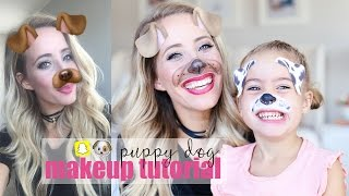 Download Puppy Dog Makeup Tutorial | Snapchat Filter Video