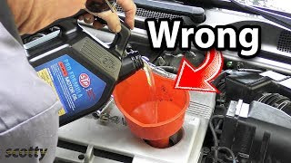 Download Changing Your Engine Oil? You're Doing It Wrong Video