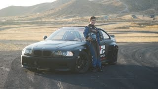 Download INSANE 14 YEAR OLD DRIFTER! *Drifts Rocket Bunny BMW e46 like a PRO* Video