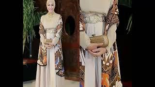 Model Baju Batik Wanita Modern 2018 Gamis Batik Pesta 2018 Free