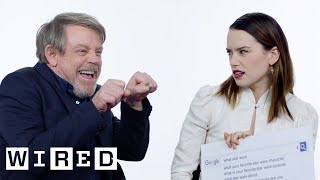 Download The Last Jedi Cast Answers the Web's Most Searched Questions | WIRED Video