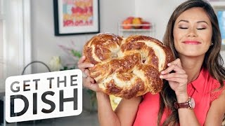Download How to Make a Giant Pretzel   Get the Dish Video