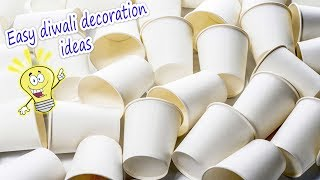 Download Very easy diwali decor idea using tea cups 2017 | Artkala 313 Video