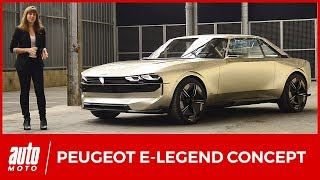 Download Peugeot e-Legend Concept (2018) : la 504 du futur Video