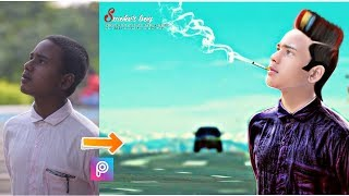 Download Clear Face + Straight Hair Style + Stylish look || Picsart Tutorial Smoker Boy Heavy Editing Video