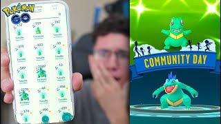 Download THIS WAS LITERALLY UNREAL! Pokémon GO SHINY TOTODILE COMMUNITY DAY! Video