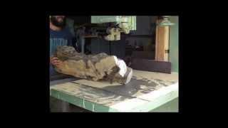 Download Processing Israeli Olive Wood- Wood work master series Video
