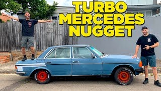 Download We Bought a Turbo Mercedes!! (Water/Methanol Injection) Video