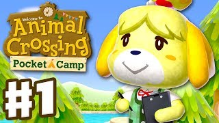 Download Animal Crossing: Pocket Camp - Gameplay Part 1 - Welcome to Camp! (iOS, Android) Video