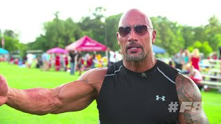 Download Dwayne 'The Rock' Johnson perfoms the Haka dance - FAST AND FURIOUS 8 Video