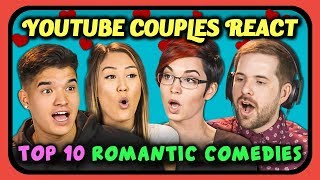 Download YouTube Couples React to Top 10 Romantic Comedy Movies of All Time Video