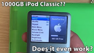 Download Building a 1000GB iPod classic! Can it handle the storage? Video