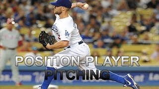 Download MLB: Position Players Pitching Video